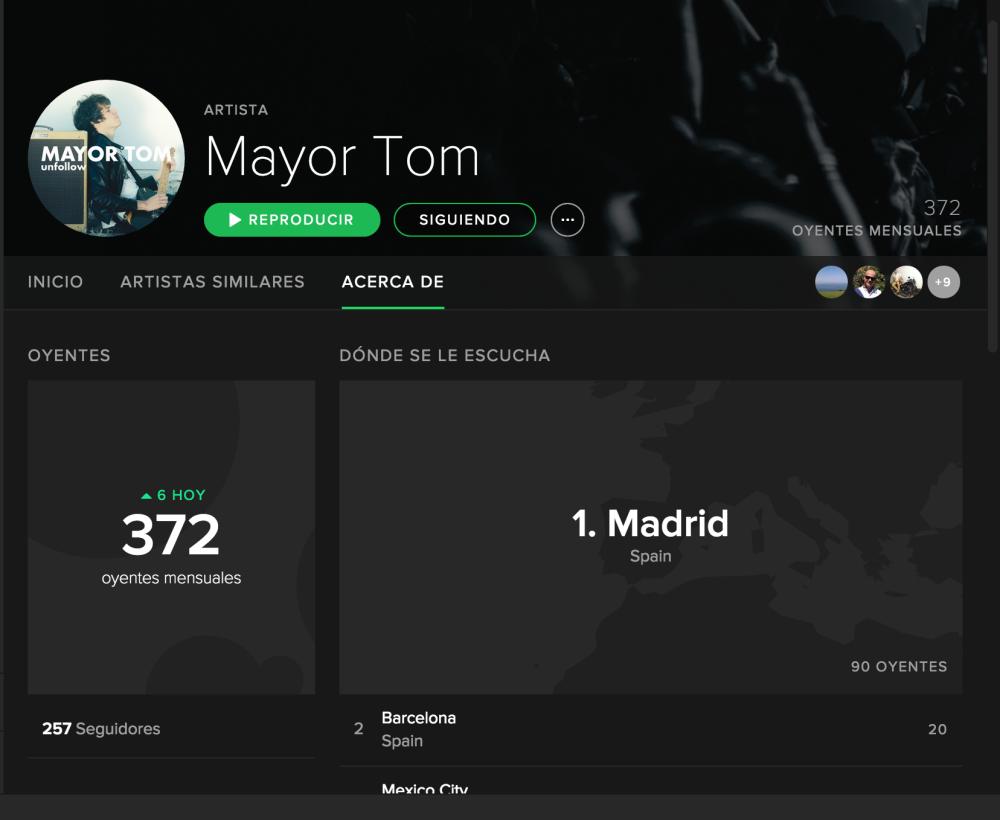 MAYOR TOM spotify