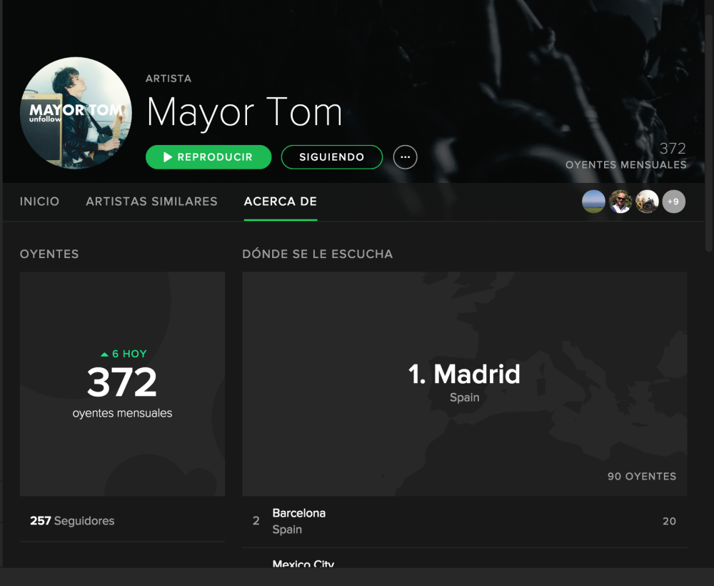 MAYOR TOM spotify
